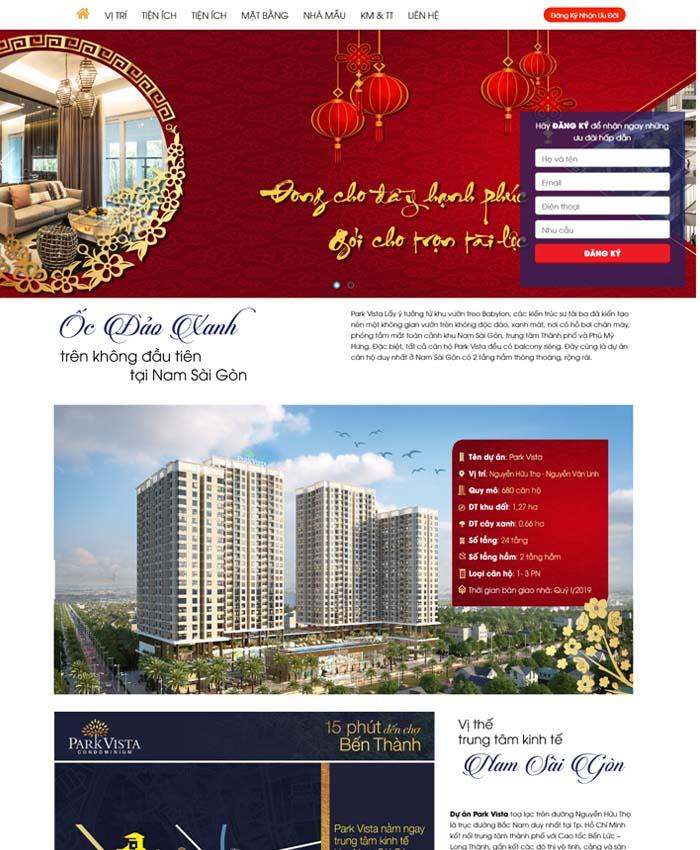 thiết kế website bất động sản đẹp 03