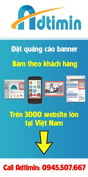Quảng cáo banner Adtimin