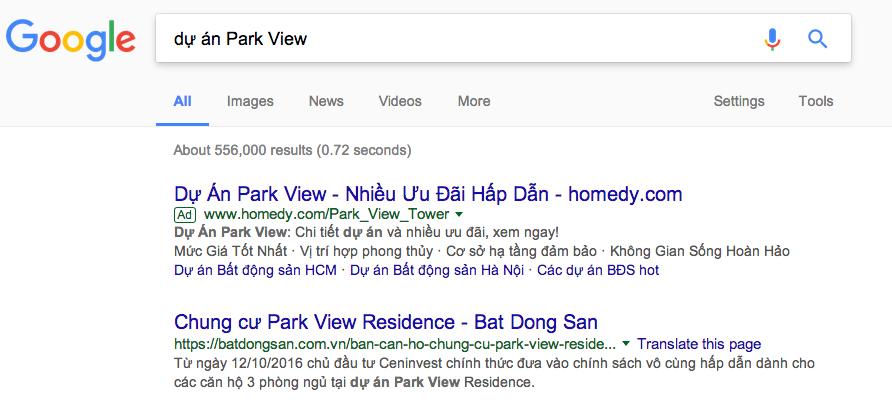 quảng cáo Google Hải Phòng