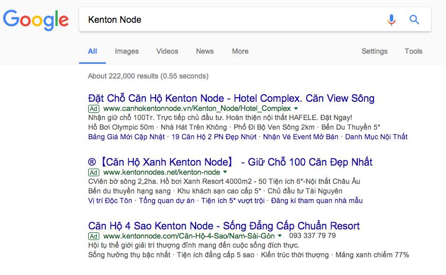 công ty quảng cáo Google Vũng Tàu