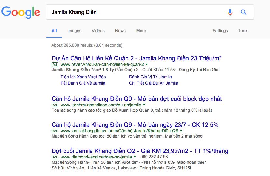 công ty quảng cáo Google Vĩnh Long