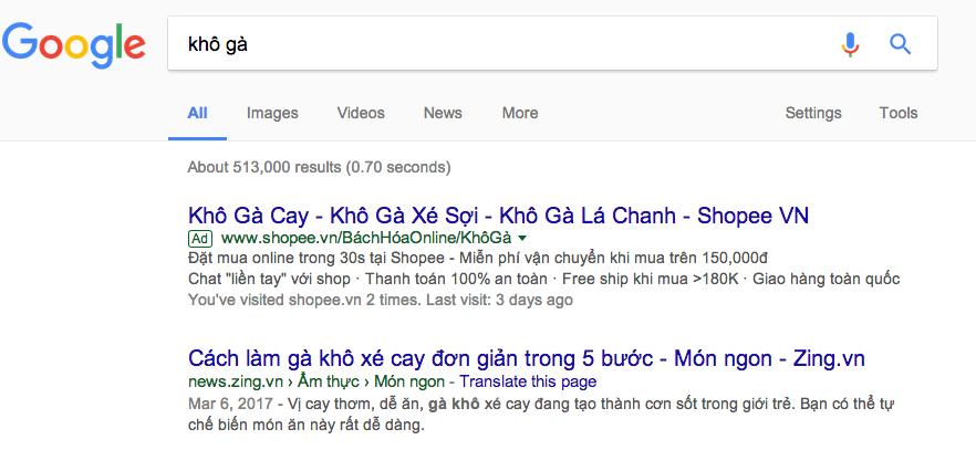 quảng cáo Google Adwords Nha Trang