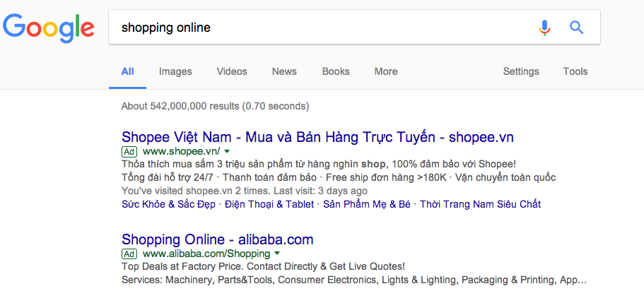 dịch vụ quảng cáo Google tỉnh Khánh Hòa