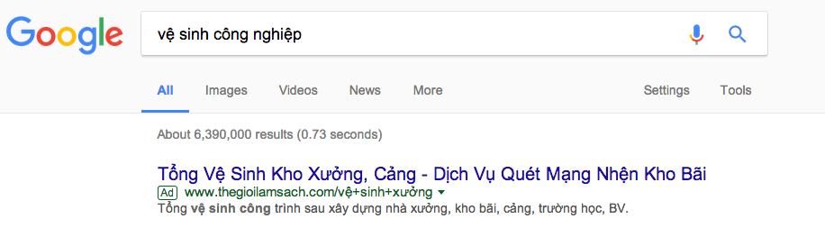 quảng cáo Google Kiên Giang giá rẻ