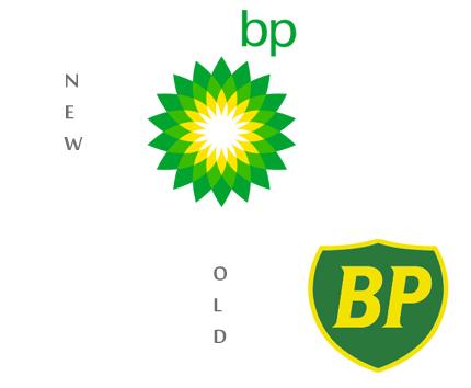 Logo BP đã được Landor Associates thiết kế lại một cách đáng ngạc nhiên vào năm 2008