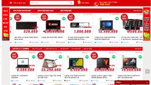 Công ty Thiết kế Website Laptop tại Vũng Tàu giá rẻ