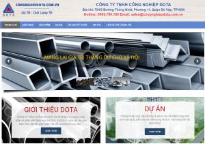 Mẫu thiết kế Website tại Đà Nẵng giá rẻ