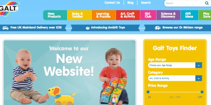 """Thiết kế website bán đồ chơi trẻ em chuyên nghiệp """"nhìn là mê"""""""
