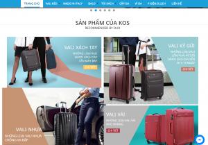 Công ty Thiết kế Website Vali tại Vũng Tàu uy tín