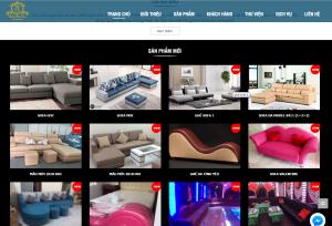 Mẫu thiết kế Website nội thất giá rẻ tại Đà Nẵng
