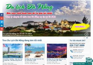 Mẫu thiết kế Website du lịch tại Đà Nẵng