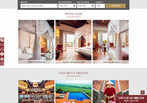 Công ty thiết kế Website khách sạn An Giang trọn gói