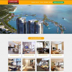 Thiết kế Website BĐS chuẩn SEO chuyên nghiệp