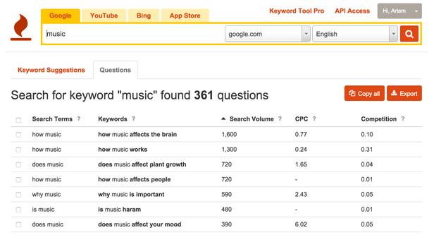 Công cụ nghiên cứu từ khóa marketing online