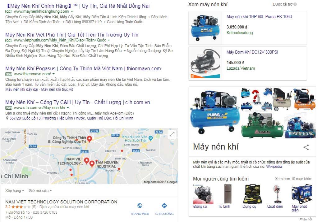 Quảng cáo google shoping