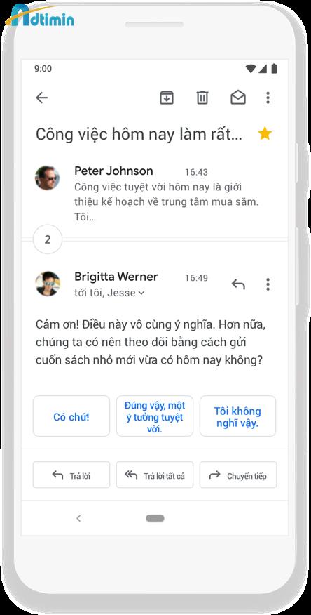 G Suite Email - Làm việc không gián đoạn