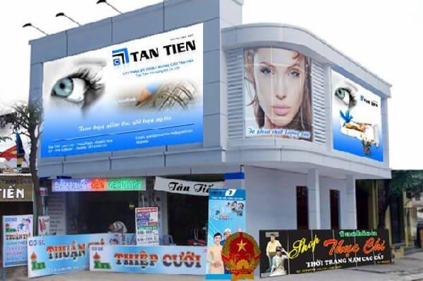 Biển hiệu quảng cáo chât lượng Đại Lâm