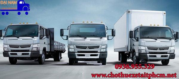 Đại Nam cho thuê xe tải chở hàng giá rẻ HCM