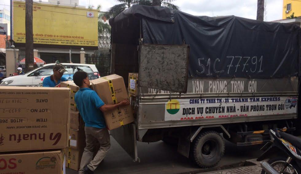 Dịch vụ thuê xe tải chở hàng giá rẻ tại Thành Tâm Express
