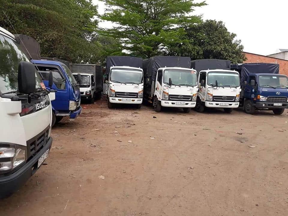 Hệ thống xe tải chở hàng đa kích thước tại LPM