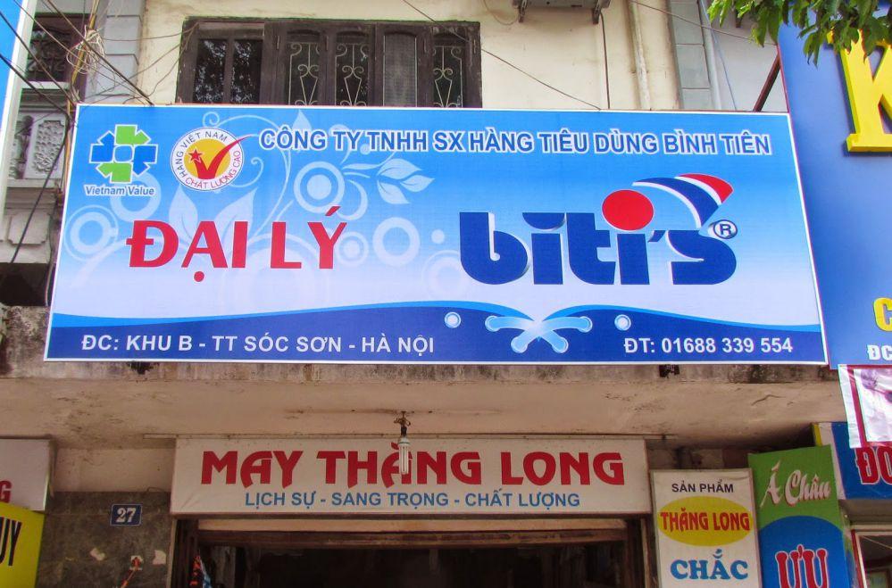 Làm biển quảng cáo bằng bạt hiflex tại Nam Á