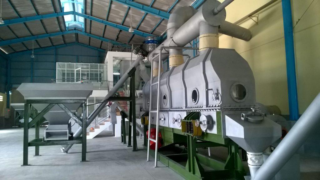 Máy móc thiết bị tại công nghệ muối biển