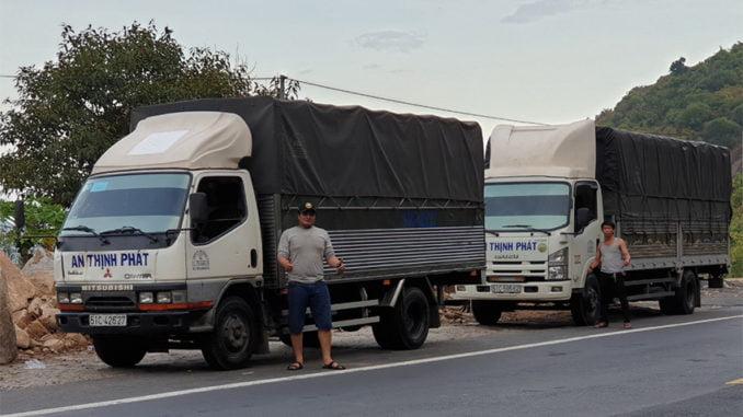 Vận tải An Thịnh Phát Cho thuê xe tải 4 tấn