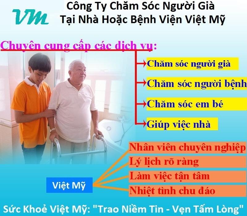 Việt Mỹ chăm sóc người lớn tuổi
